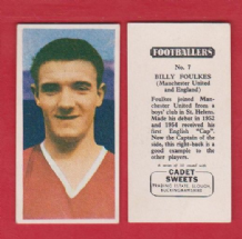 Manchester United Bill Foulkes England